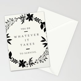 To Survive MFM Stationery Cards