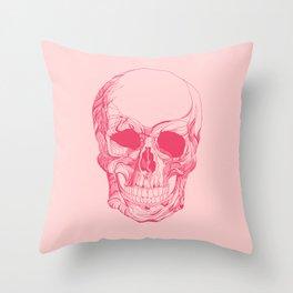 Mr. Skull Throw Pillow