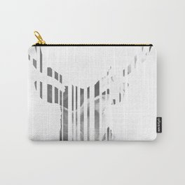 Geometric black Stag Carry-All Pouch