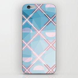 Abstract Triangulated XOX Design iPhone Skin