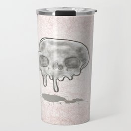 Melting skull Travel Mug