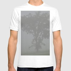 Almost Home White MEDIUM Mens Fitted Tee