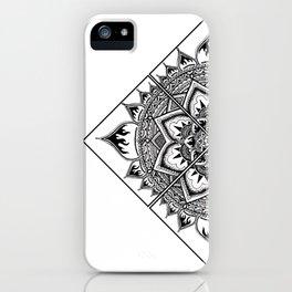 Mandala Lisbonne iPhone Case
