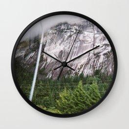 squamish 2014 tres Wall Clock