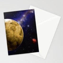 extrasolar planets Stationery Cards