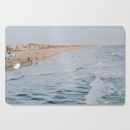 Santa Monica Beach, California Cutting Board