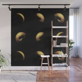 Planet apple triptychon IV Wall Mural