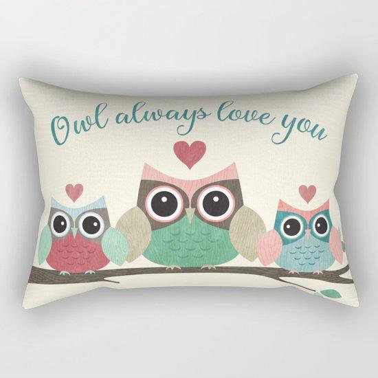 Owl Always Love You Rectangular Pillow