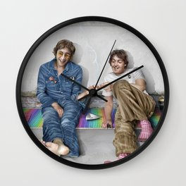 John and Paul get away from it all Wall Clock