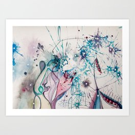 OMnivorous Art Print