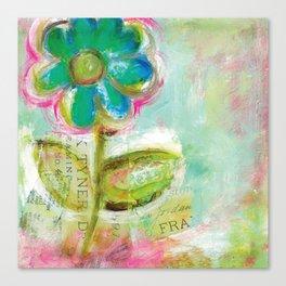Le Bleuet Canvas Print