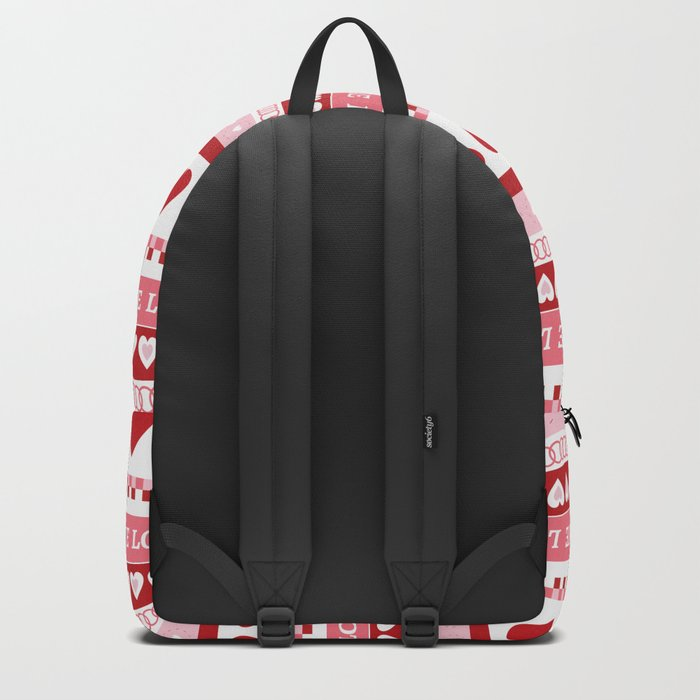 Valentine's Day - Love Pattern Backpack