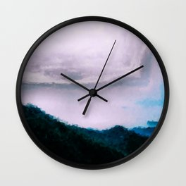 Once Again (Paint) the Land Wall Clock