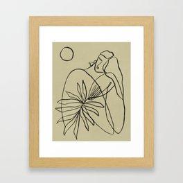 Summer lines V|| Framed Art Print
