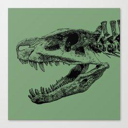 Postosuchus Skull II Canvas Print