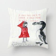 A Single Friend Throw Pillow