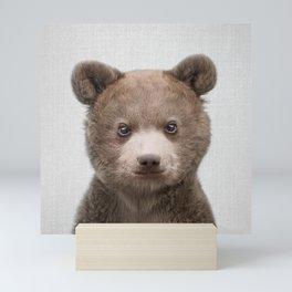 Baby Bear - Colorful Mini Art Print