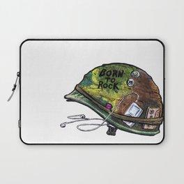 """Born to Rock"" by Cap Blackard Laptop Sleeve"