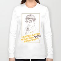 rushmore Long Sleeve T-shirts featuring Rushmore by Michelle Eatough