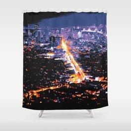 San Francisco Market Street Shower Curtain