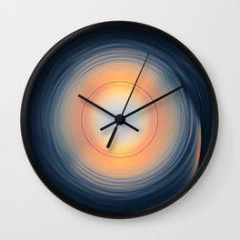 Ocean Sunset [iNvErSe] Wall Clock