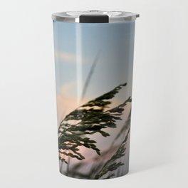 Sea Oats & Sunset Travel Mug