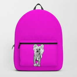 Sassy Chinese Crested Backpack