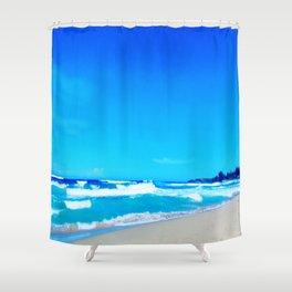 Carribean Coast Shower Curtain