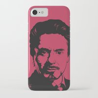 robert downey jr iPhone & iPod Cases featuring Robert Downey Jr. by ArDem