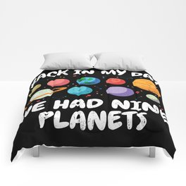 Back In My Day We Had Nine Planets | Astronomy Comforters
