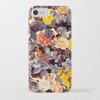 floral pattern iPhone & iPod Cases featuring Floral Pattern by Burcu Korkmazyurek
