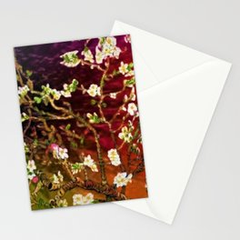 Vincent van Gogh Blossoming Almond Tree (Almond Blossoms) Multi-color Stationery Cards