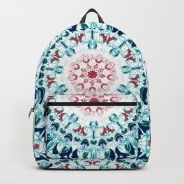 Blush & Blue Mandala Backpack