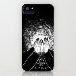 mr misty eyed iPhone Case