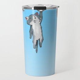 Hanging Cats of Babylon Travel Mug