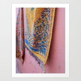 Rug Design in Marrakech   Pastels   Market   Travel photography   Fine Art   Photo Print    Art Print