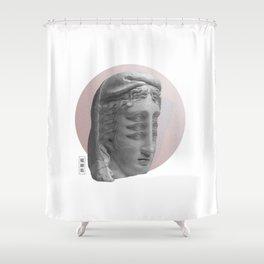 """The High Priestess"" Shower Curtain"