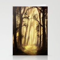 forrest Stationery Cards featuring The forrest by Richard Eijkenbroek