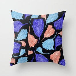 Matisse Ginkgo Leaves Throw Pillow