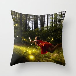 when are we leaving Throw Pillow