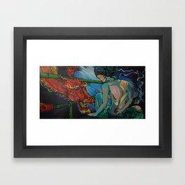The Last Elder Framed Art Print