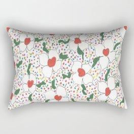 Classic Floral Pattern Rectangular Pillow