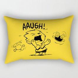 Auugh! Rectangular Pillow