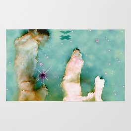 Pillars of Creation Nebula Rug