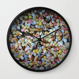 Colorful Shells Wall Clock