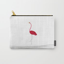 Flamingo Flying Solo Carry-All Pouch