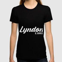 Lyndon Baine Johnson T-shirt