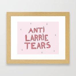 anti larrie tears 4 Framed Art Print