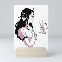 Moth Princess Mini Art Print