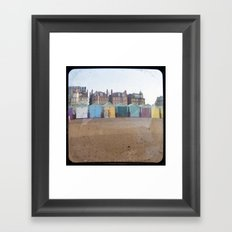 Colors of Brighton Framed Art Print